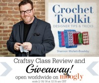 Win a copy of Crochet Toolkit: Designer Tips and Tricks by Shannon Mullett-Bowlsby of the Shibaguyz! Open WORLDWIDE on Mooglyblog.com, ends 2/18/16!