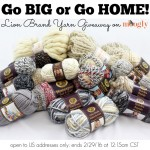 Go Big or Go Home Lion Brand Yarn Giveaway on Moogly!