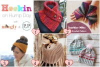 Hookin On Hump Day #112 is up! And 4 out of 5 of these fab crochet projects are FREE!