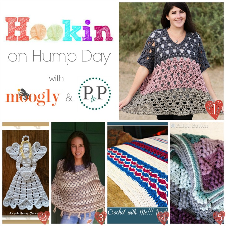 HOHD 113 - Get the latest and greatest projects from around the webs with this crochet and knitting link party on Moogly and Petals to Picots! Rouind #113 features a great mix of projects you won't want to miss!