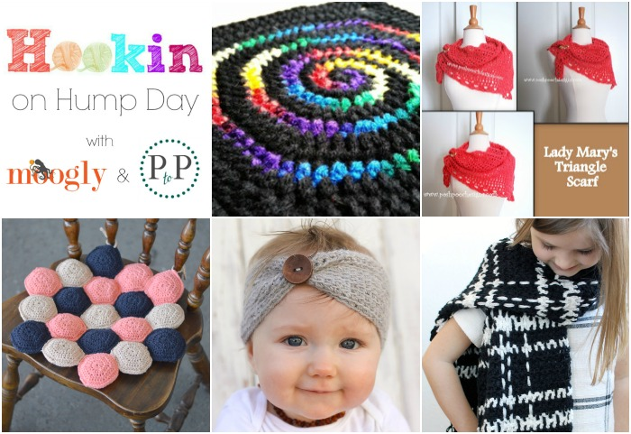 Hookin On Hump Day #114 - featuring the 5 best FREE crochet patterns from the last 2 weeks!
