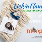 LickinFlames Shawl Pin Giveaway on Moogly!