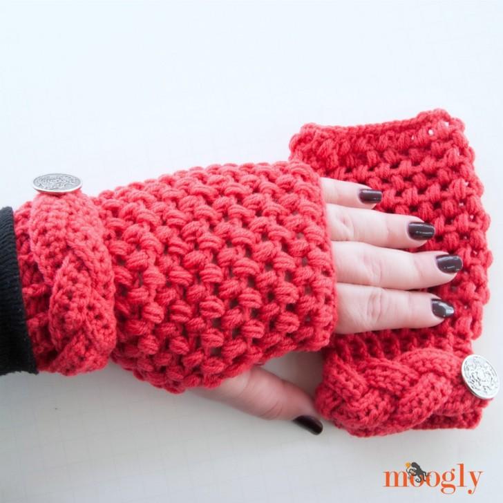 Tamara Mitts Crochet Pattern