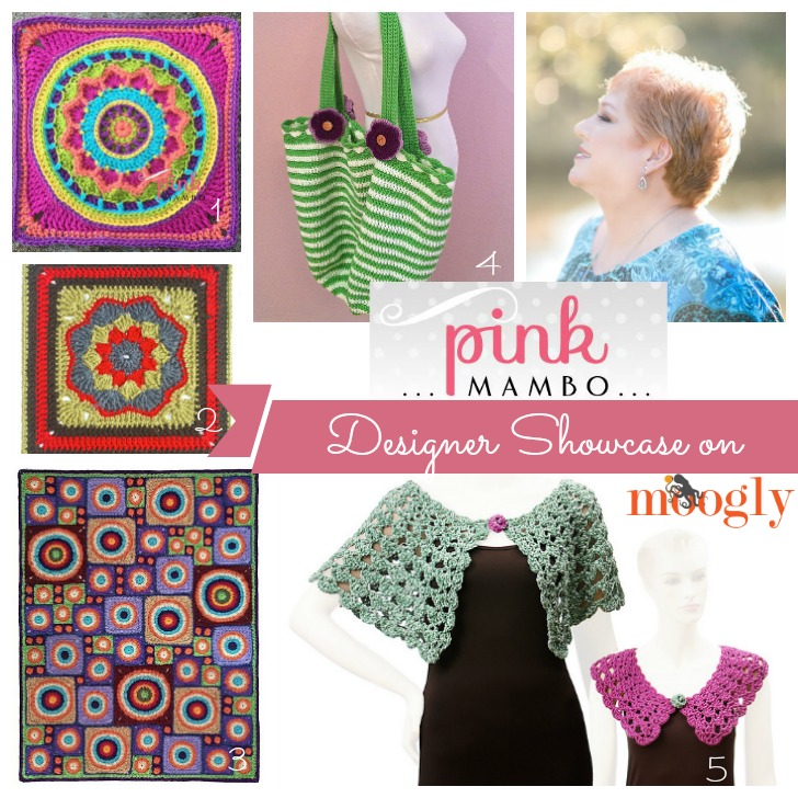 Carolyn Christmas - in the Moogly Designer Showcase! Read all about her fab career, and get 5 FREE crochet patterns!