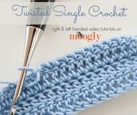 Twisted Single Crochet
