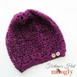 Fortune's Hat: FREE one skein crochet pattern on Mooglyblog.com!