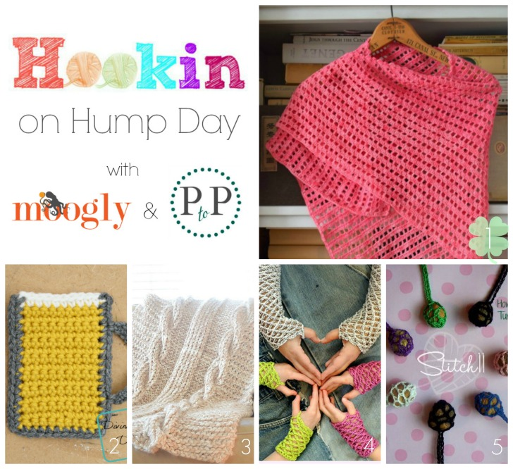 HOHD 115 is up! ♥ This week we've got  4 crochet patterns and 1 knit pattern - and they're all FREE! Check them out and add your links to this fab link party!