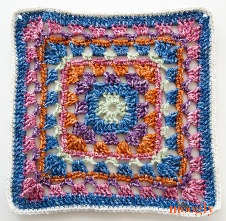 Block #6 for the 2016 Moogly CAL - courtesy of SimplyCollectibleCrochet!