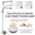 OttLite Ultimate 3-in-1 Craft Floor Lamp: Giveaway on Moogly!