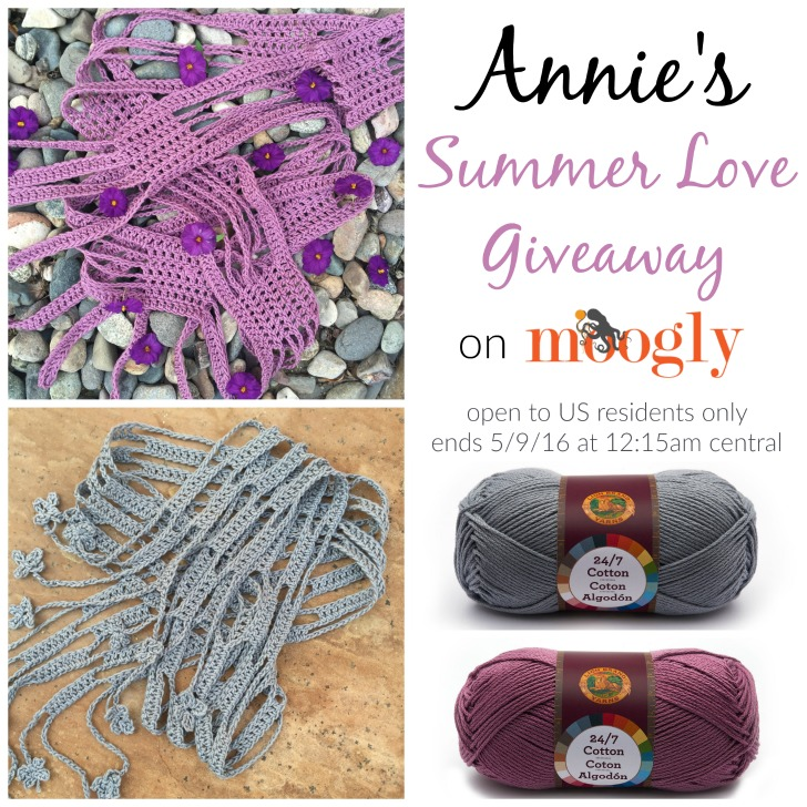 Annies Summer Love Giveaway On Moogly Moogly