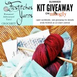 Ficstitches Yarns Summer 2016 Kit Giveaway on Moogly!