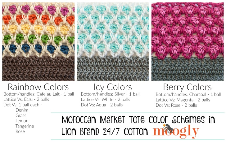 Win 8 balls of LIon Brand 24/7 Cotton in the Mooglyblog.com giveaway! Ends 4/25/16 at 12:15am central