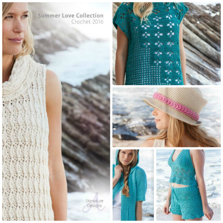 Annie's Summer Love Giveaway on Moogly! Win this 2 in 1 pattern AND the yarn to make it! Ends 5/9/16, open in the US only.