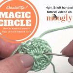 Magic Circle trouble? This video from Mooglyblog.com shows how to secure your magic circles so they don't come undone - and how to fix the ones that are coming apart!