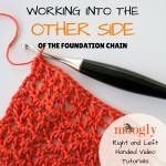 Ever come across a pattern than has you starting again at the foundation chain halfway through? Do the instructions say your rectangle is worked from the center out? Watch this free crochet video tutorial on Moogly and see what they're talking about!