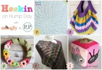 Hookin On Hump Day #118 on Moogly and Petals to Picots! Get the details on all these fab projects and patterns - and add your own!