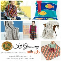 Lion Brand Crochet and Knit Giveaway on Moogly! See image for details!