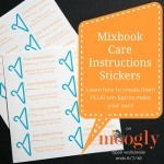 Mixbook Care Labels for Crochet and Knitting!