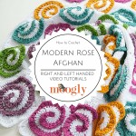 Modern Rose Afghan Tutorial