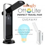 OttLite Perfect Travel Pair Giveaway on Moogly!