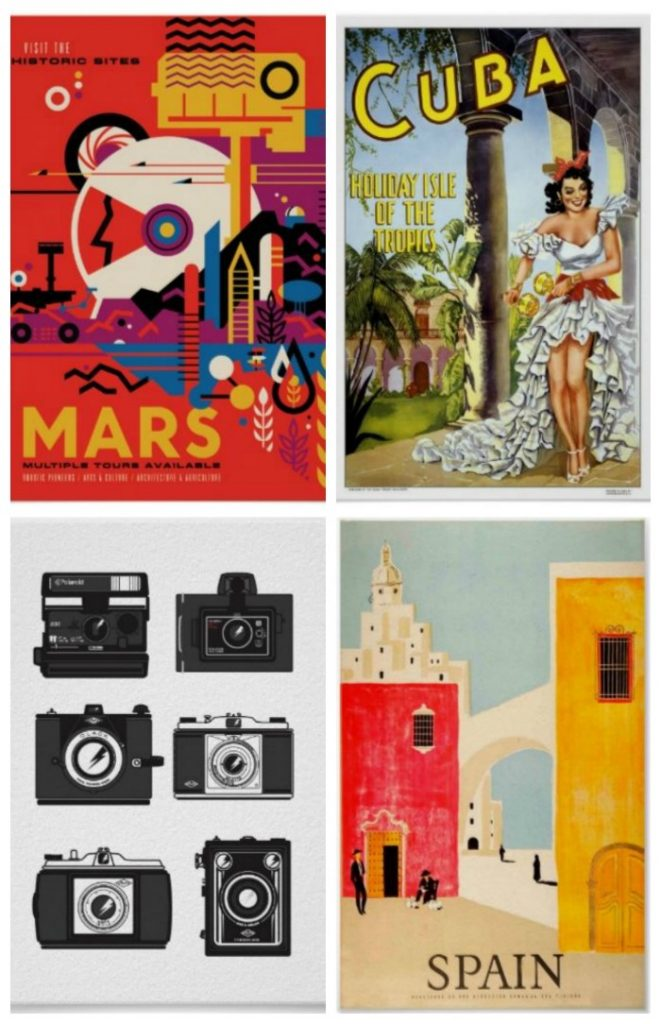 Vintage Posters on Zazzle - Great gift idea for dads!
