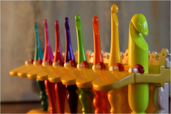 Candy Shop Crochet Hooks by Furls - win your own on Moogly! Ends 5/16/16
