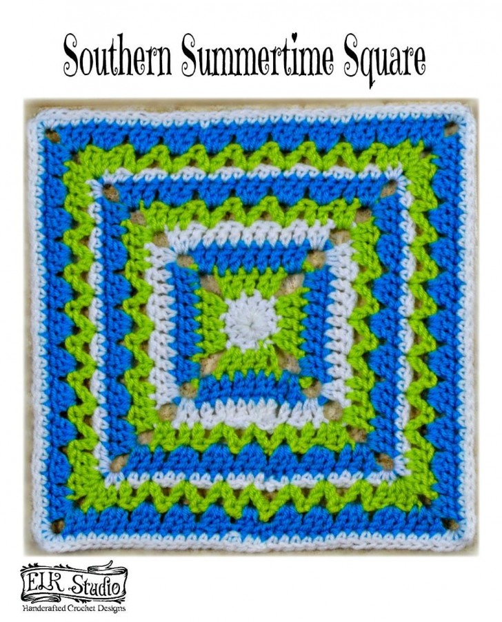 MooglyCAL 2016 - Block #13! Come join the yearlong crochet along - all the patterns are free!