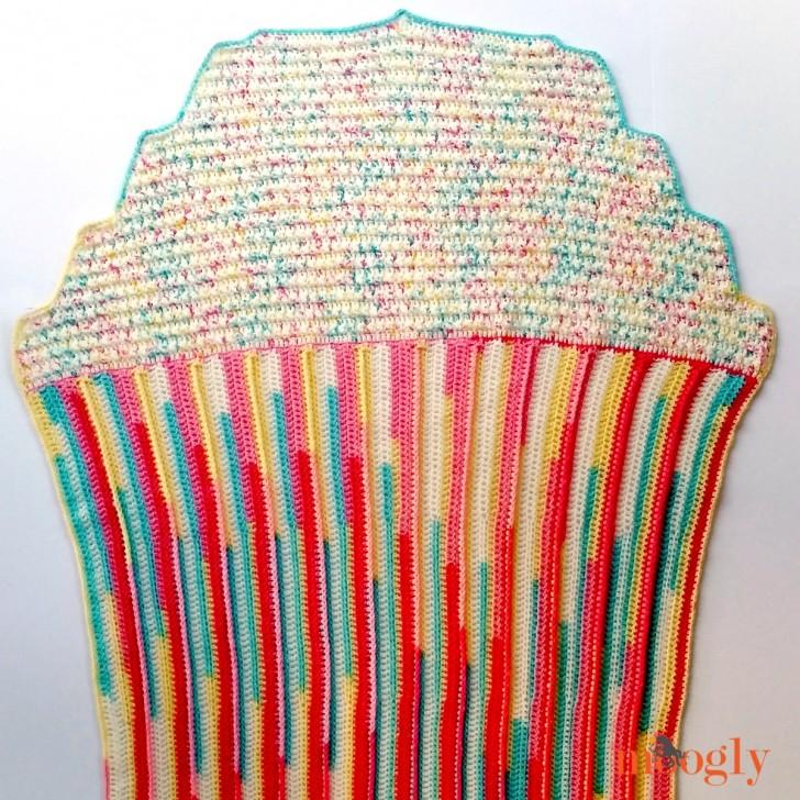 Cupcake Baby Blanket Moogly