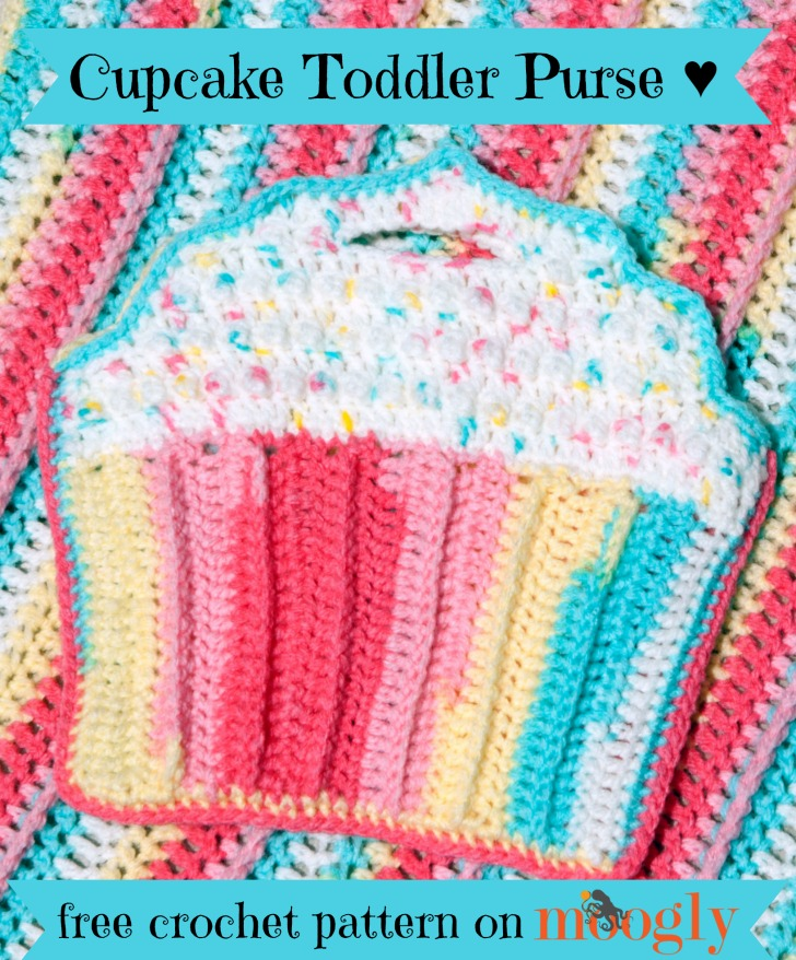 Cupcake Toddler Purse Moogly