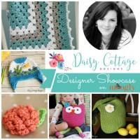 Daisy Cottage Designs Designer Showcase - 5 FREE crochet patterns on Mooglyblog.com!