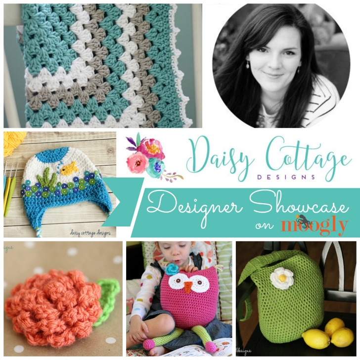 Daisy Cottage Designs Designer Showcase - 5 FREE crochet patterns on Mooglyblog.com!