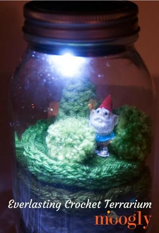 verlasting Crochet Terrarium - free crochet pattern on Moogly!