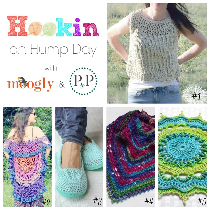 Hookin on Hump Day #121~ get the best of the best and add your own to this knit and crochet link party on Moogly!