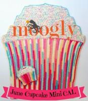 Cupcake Mini CAL - June 2016, free patterns on Moogly!