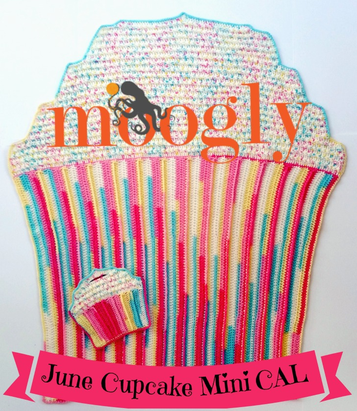 Cupcake Mini CAL - June 2016, free patterns on Moogly!