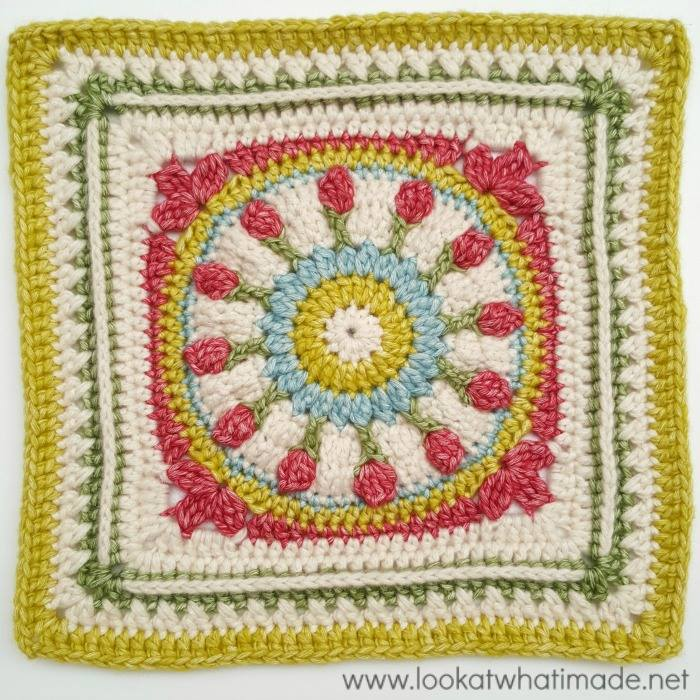 Block #14 in the 2016 Moogly Afghan CAL!