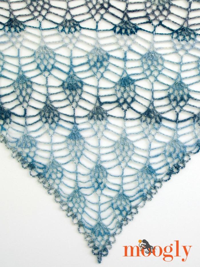 Amara Shawl - free one skein crochet pattern on Mooglyblog.com!