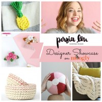 Alexis Middleton from Persia Lou - read more about this designer in the Moogly Designer Showcase! Get 5 FREE crochet patterns here!