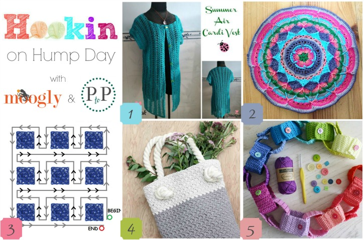 hohd 123 - the link party on moogly and petals to picot that's full of fantastic crochet!