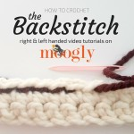 Backstitch Seaming and Sewing