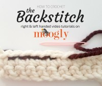 How can learning the Backstitch help you crochet? Find out in this video tutorial on Mooglyblog.com!