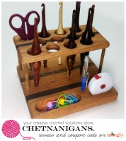 Chetnanigans - handmade crochet organizing solutions! Love these!