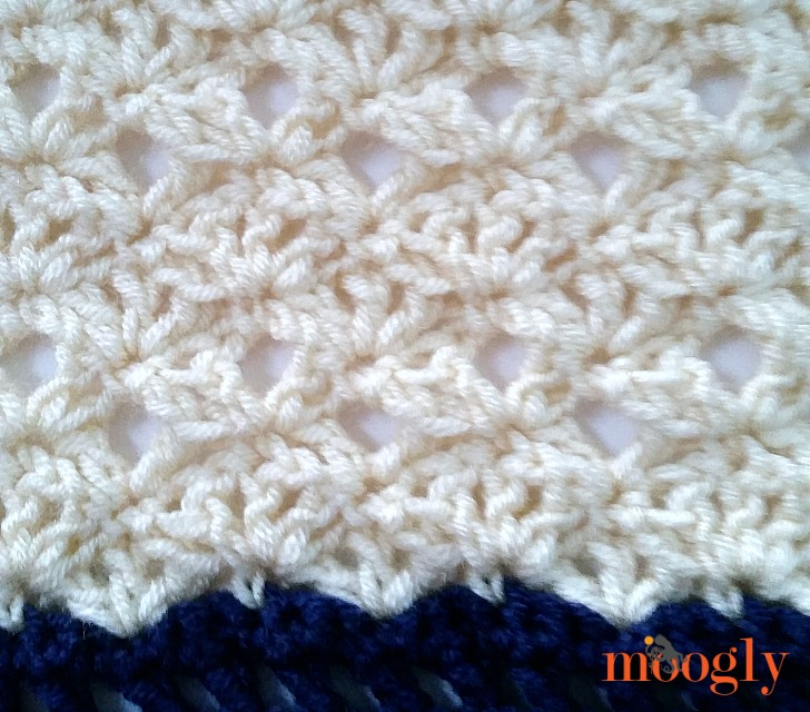 Free Crochet Pattern: Seaside Ruana on Moogly!