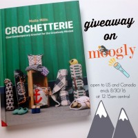 """Win """"Crochetterie"""" by Molla Mills on Moogly! Giveaway ends 8/30/16"""