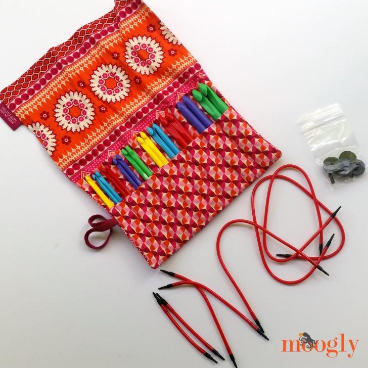 1 2 3 4 double-ended hook crochet