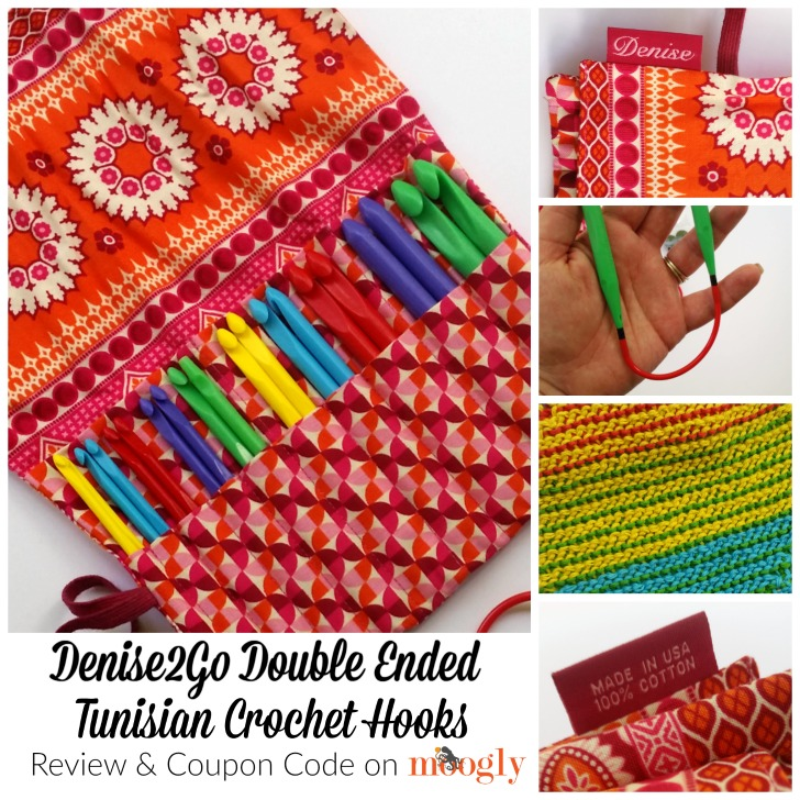 Denise2Go Double Ended Tunisian Crochet Hooks Review and Coupon Code on Moogly!