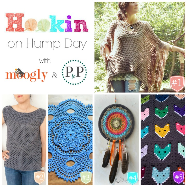 Hookin On Hump Day #125 - the latest and greatest crochet from around the web! :D Get the latest links here (and if you've got a blog, add your own!)