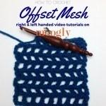 Offset Mesh Pattern