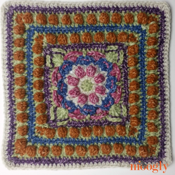 Block #18 in the Moogly Afghan CAL!