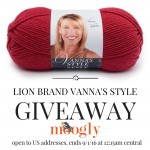 Fall in Love with Lion Brand Vanna's Style: Giveaway on Moogly!